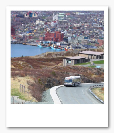 Image of Metrobus charter up Signal Hill
